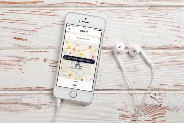 Crédit : Uber par Shutterstock