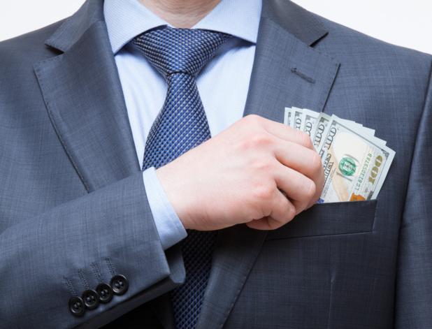 Crédit : rémunération des dirigeants par Shutterstock