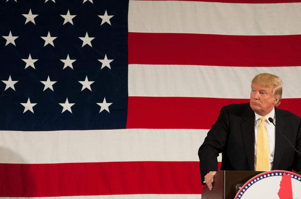 Crédit : Donald Trump par Shutterstock