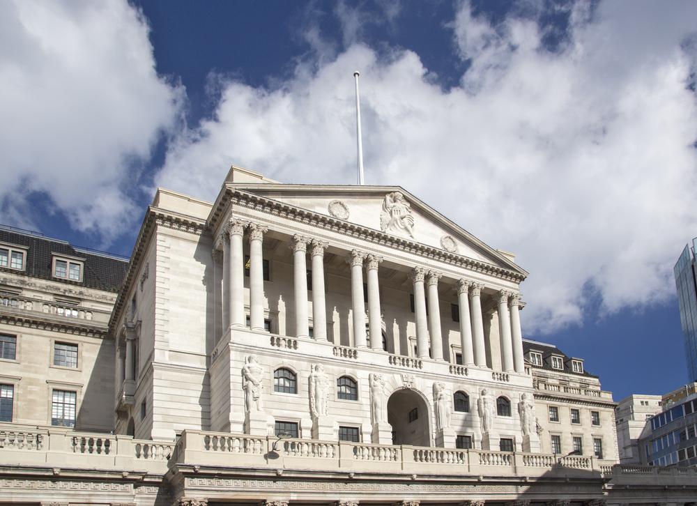 Crédit : Banque d'Angleterre par Shutterstock