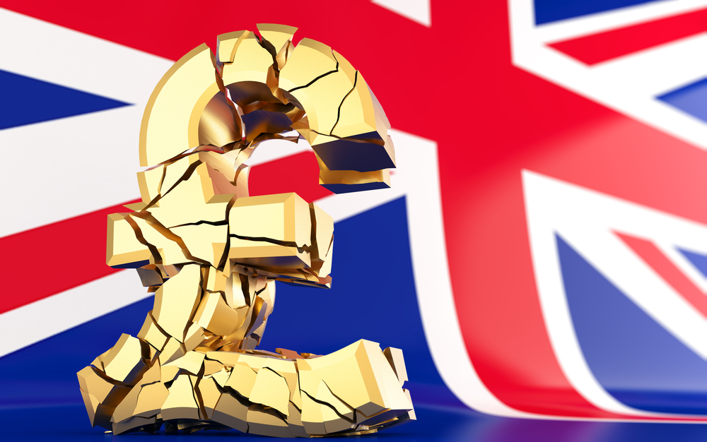 Crédit : Brexit inflation par Shutterstock