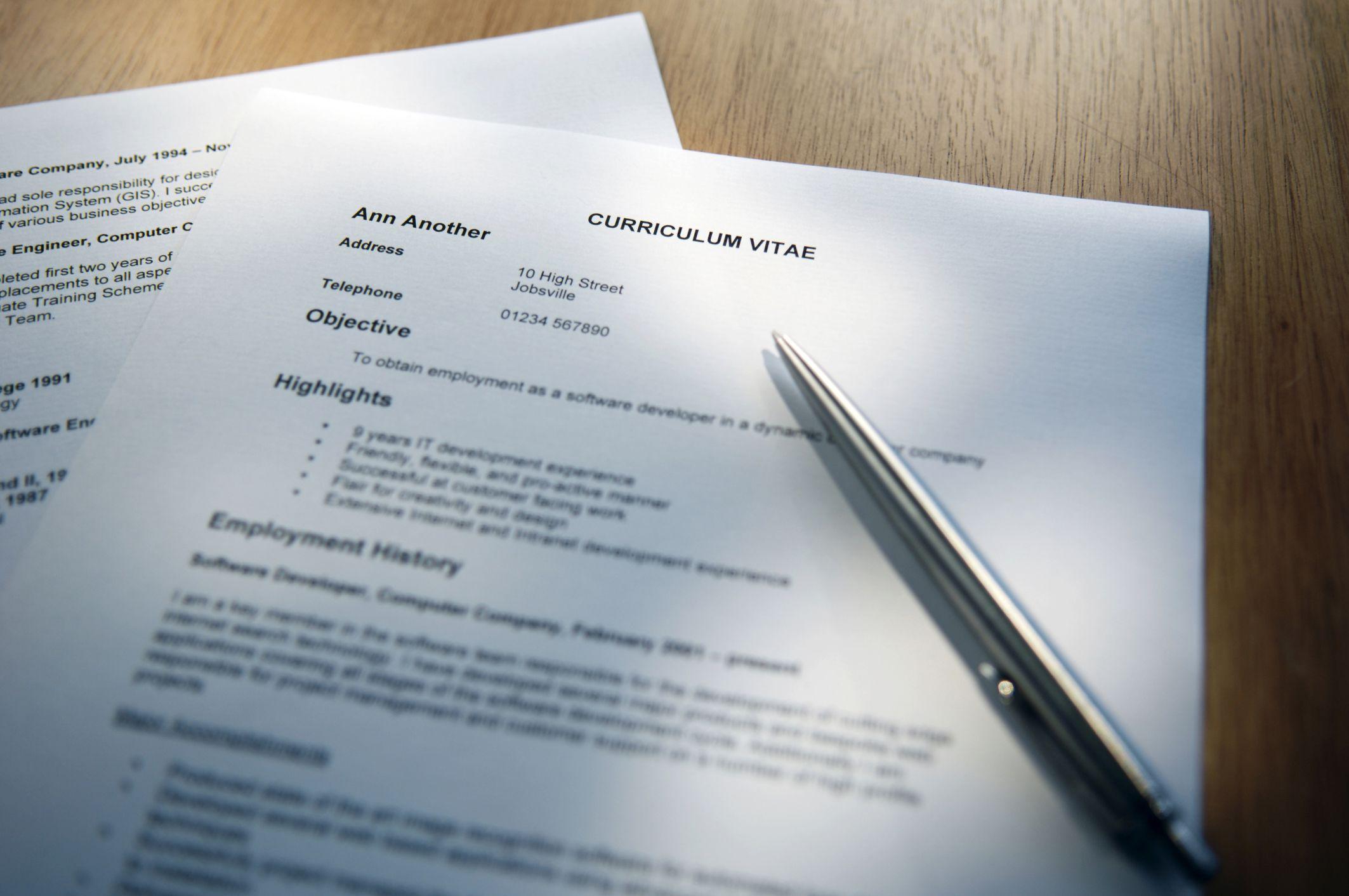 47 % des CV sont mensongers