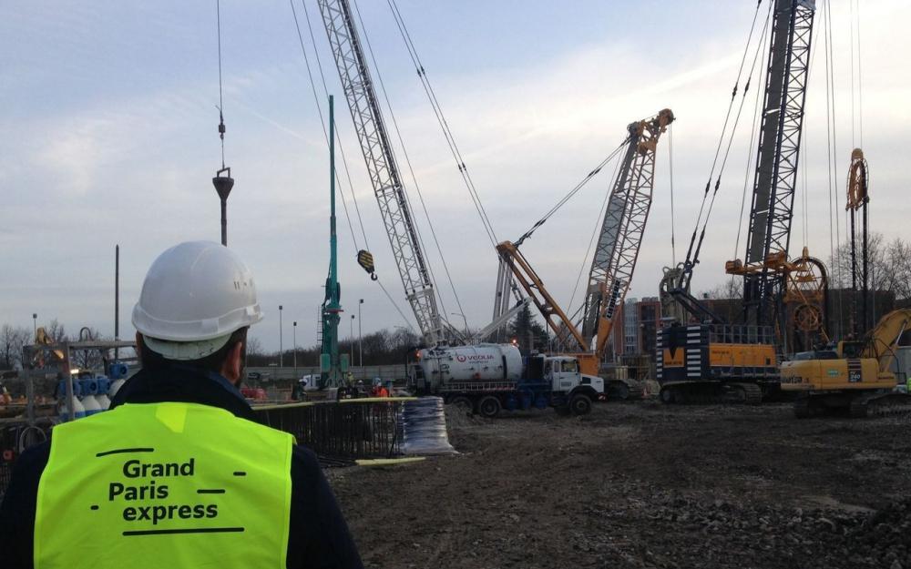 Maintien à son niveau historique de l'activité de construction de bureaux dans le Grand Paris