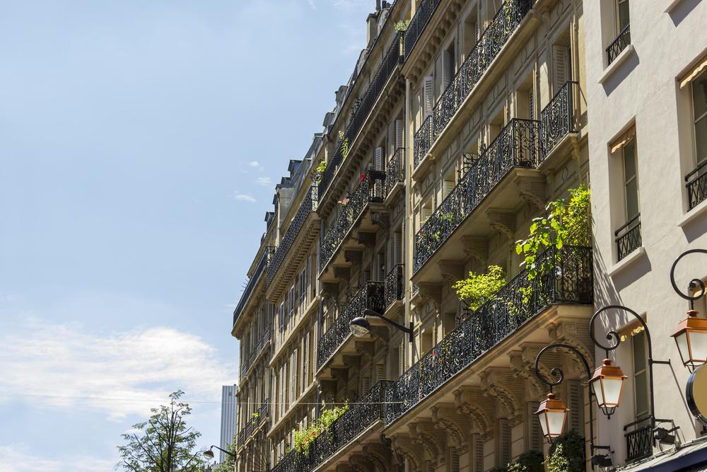 Crédit : appartement à Paris par Shutterstock