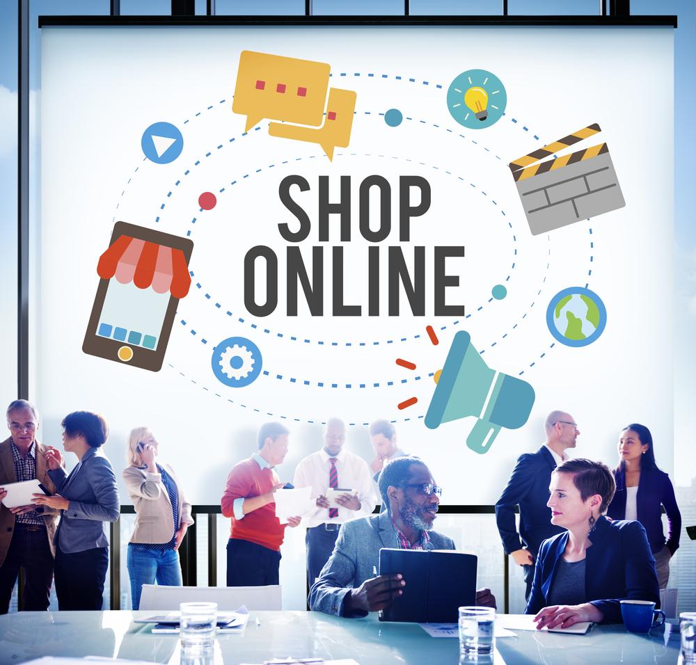 Crédit : e-commer marketing par Shutterstock