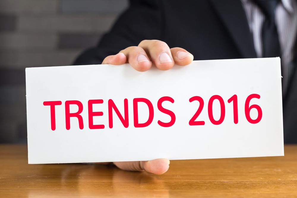 Crédit : tendances 2016 par Shutterstock