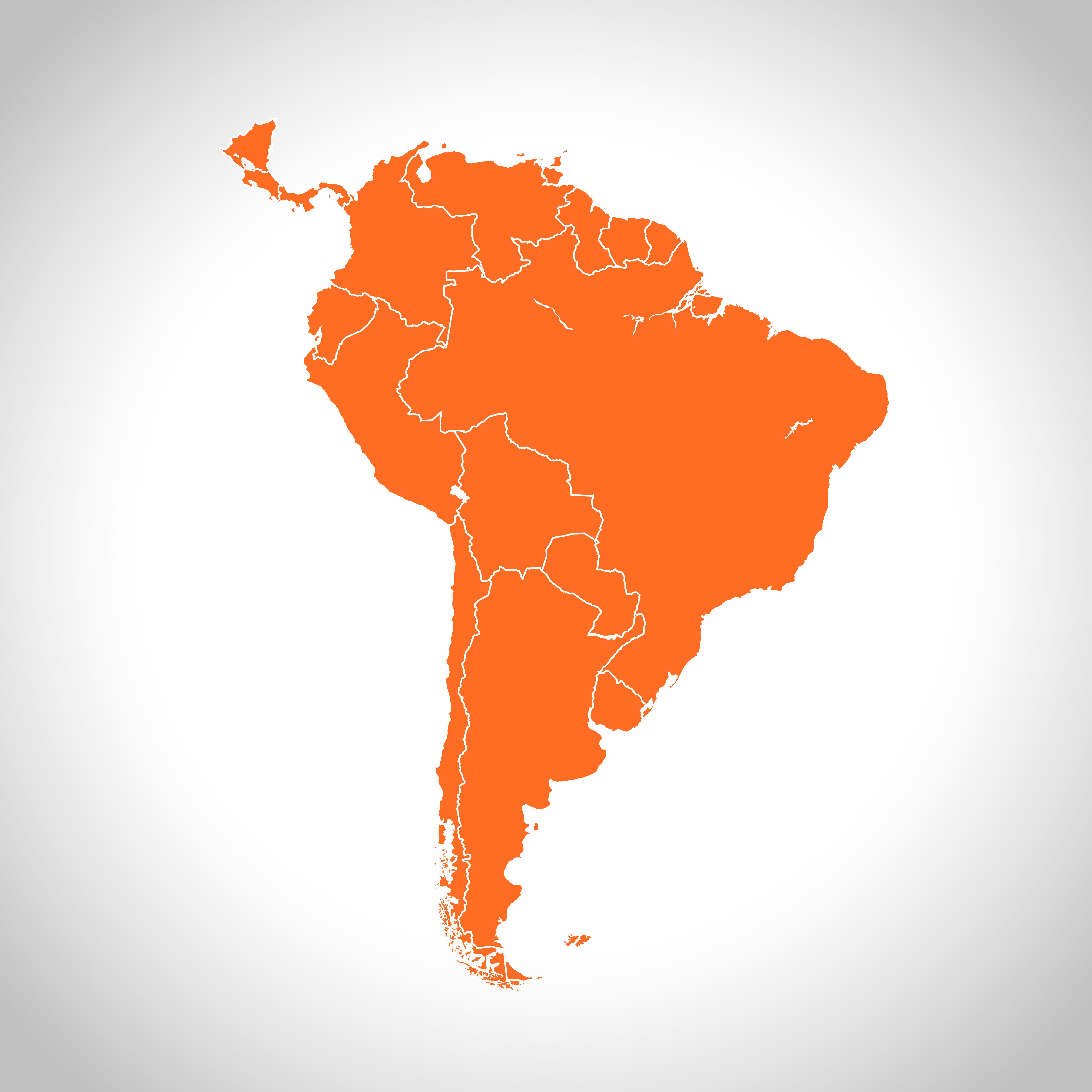 Crédit : Amérique du Sud par Shutterstock