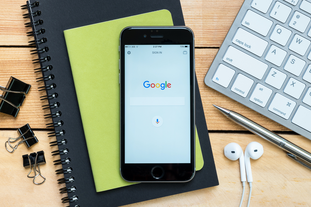 Crédit : Google par Shutterstock