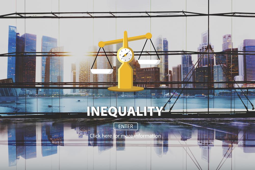 Crédit : inégalités par Shutterstock