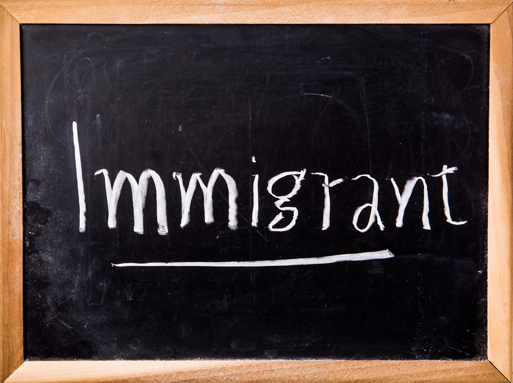 Crédit : immigration par Shutterstock