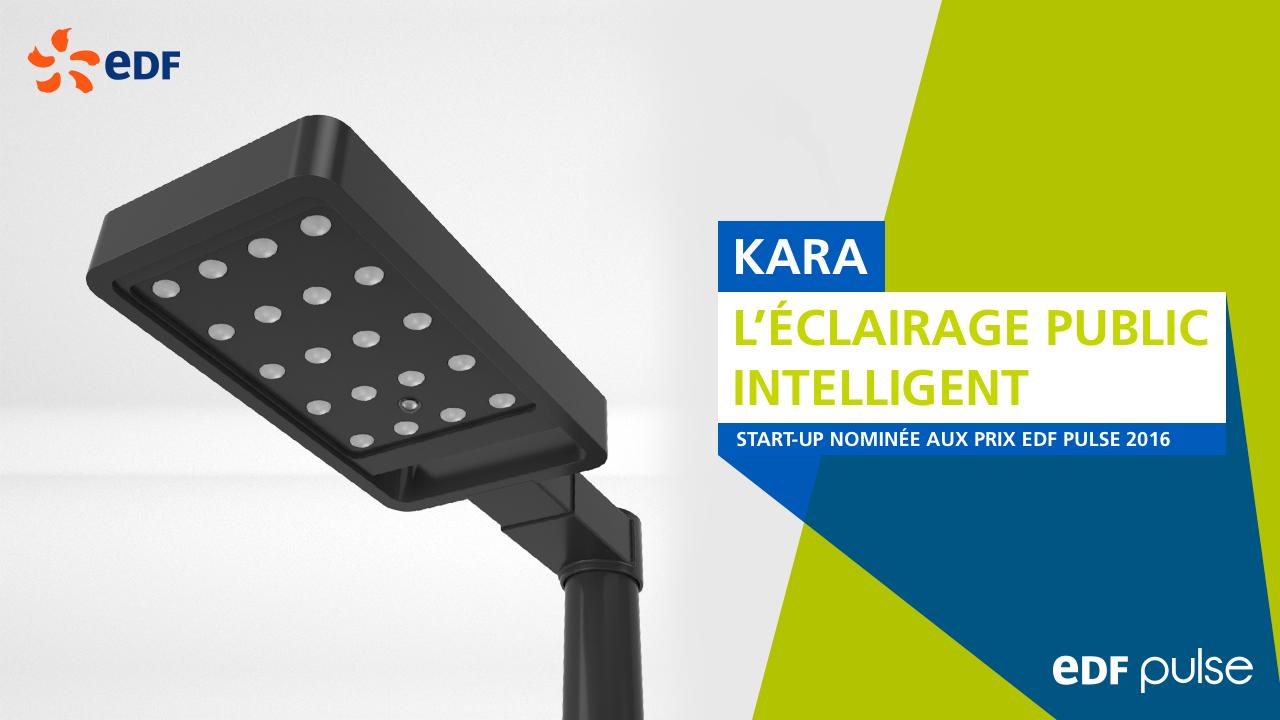 Kara révolutionne l'éclairage urbain