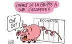 Quels sont les impacts de la grippe porcine sur l'économie ?