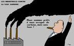 Les industriels contre la taxe carbone...