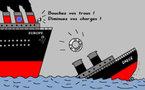 L'Europe  au  secours  de  la  Grèce . .