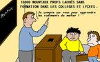 Rentrée scolaire :     les nouveaux professeurs privés de formation...