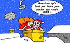 Le Père Noël face à la crise