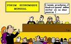 Le Forum économique mondial passe (presque) inaperçu...