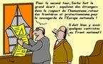 Le grand écart de Sarkozy...