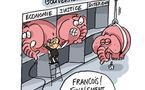 Le casse-tête d'Hollande...