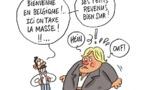 Depardieu chez les Belges