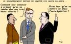 Autorégulation des hauts salaires...