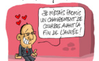 Hollande voit rose...