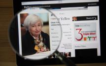 Yellen : le nécessaire passage de l'économie en « sur-régime »