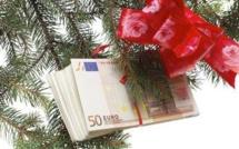 81 % des adolescents recevront de l'argent à Noël